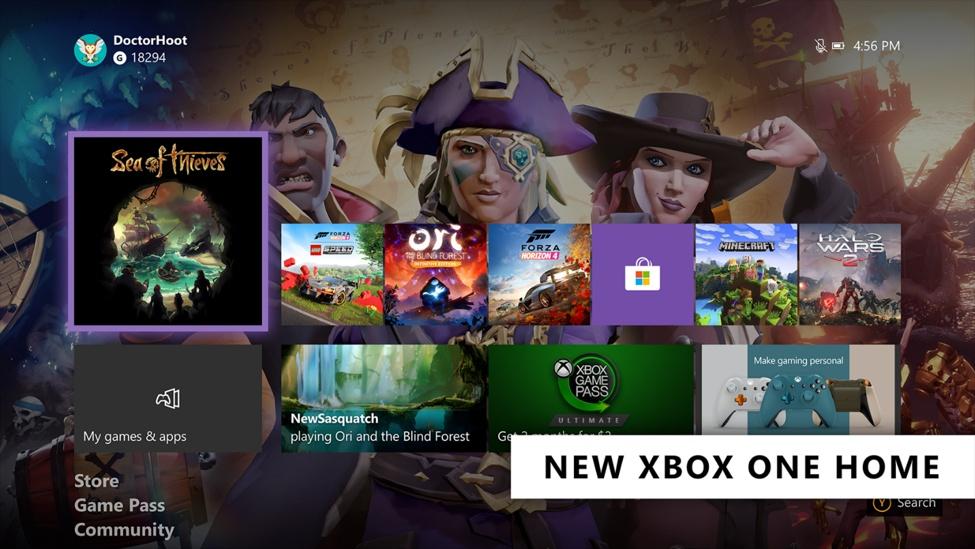 Xbox-One-Simple-Home-UI