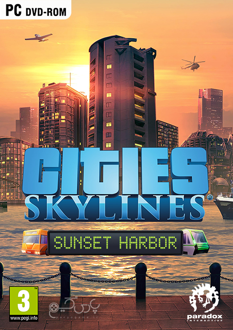دانلود بازی Cities Skylines Sunset Harbor برای PC