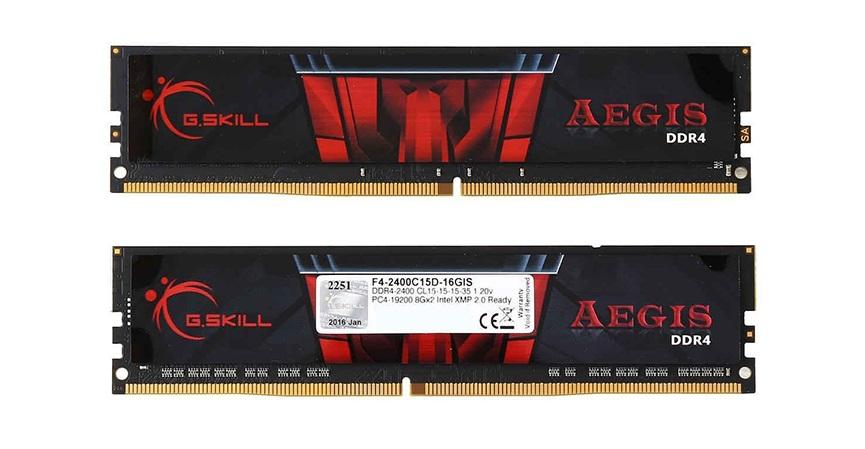 GSkill AEGIS 28GB 2400 DDR4