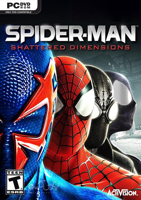 دانلود بازی Spider Man Shattered Dimensions برای PC