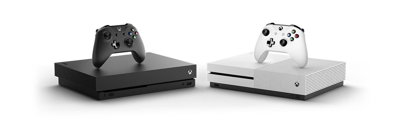 XBOX ONE S VS XBOX ONE X