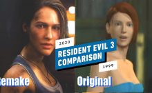 resident evil 3 comparision
