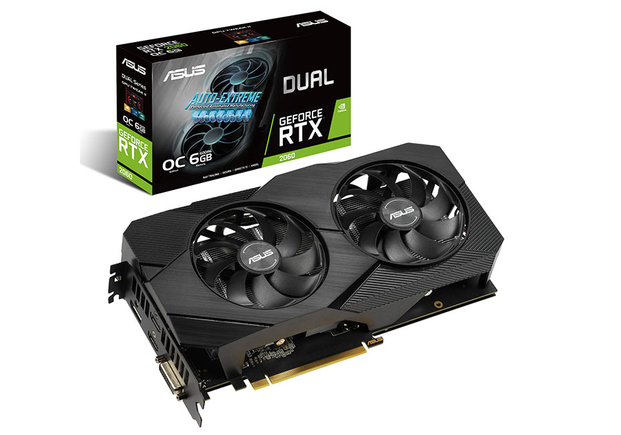 ASUS RTX 2060 DUAL EVO 6GB