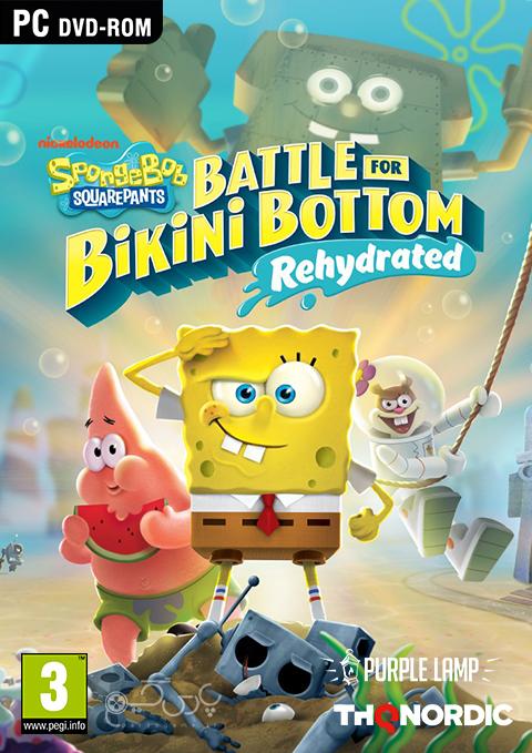 دانلود بازی SpongeBob SquarePants BfBB Rehydrated برای PC