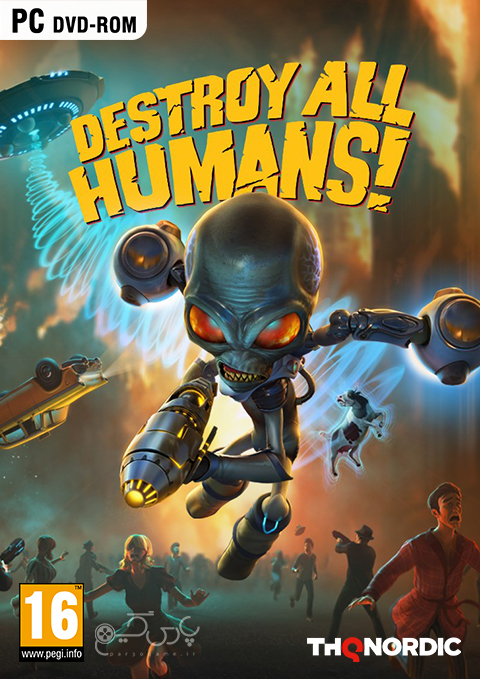 دانلود بازی Destroy All Humans برای PC