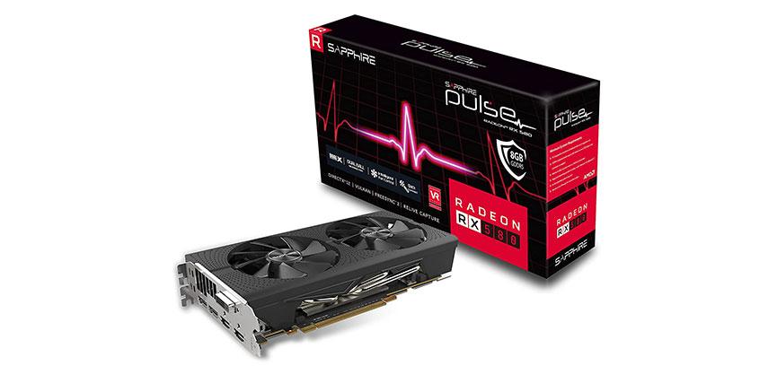 Sapphire Radeon RX 580 Pulse 8GB