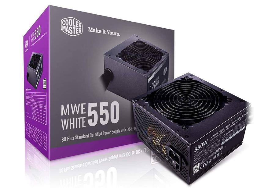 Cooler Master MWE White 550W