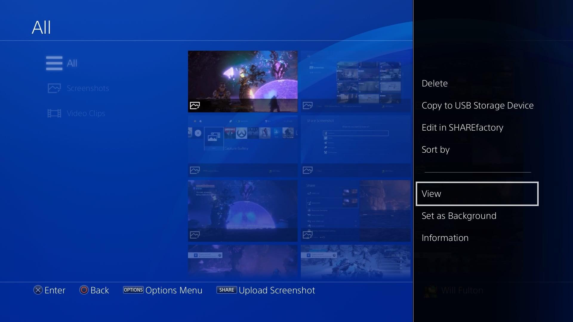 آموزش گرفتن اسکرین شات و ضبط ویدیو در پلی استیشن 4