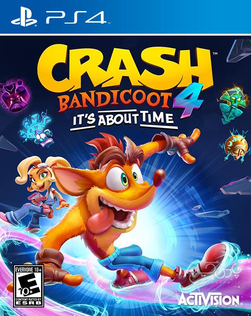 دانلود بازی Crash Bandicoot 4 It's About Time برای PS4