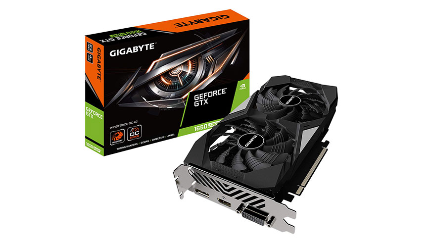 GIGABYTE GTX 1650 SUPER WindForce OC 4GB GDDR6