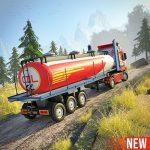 Offroad Oil Tanker Truck Driving