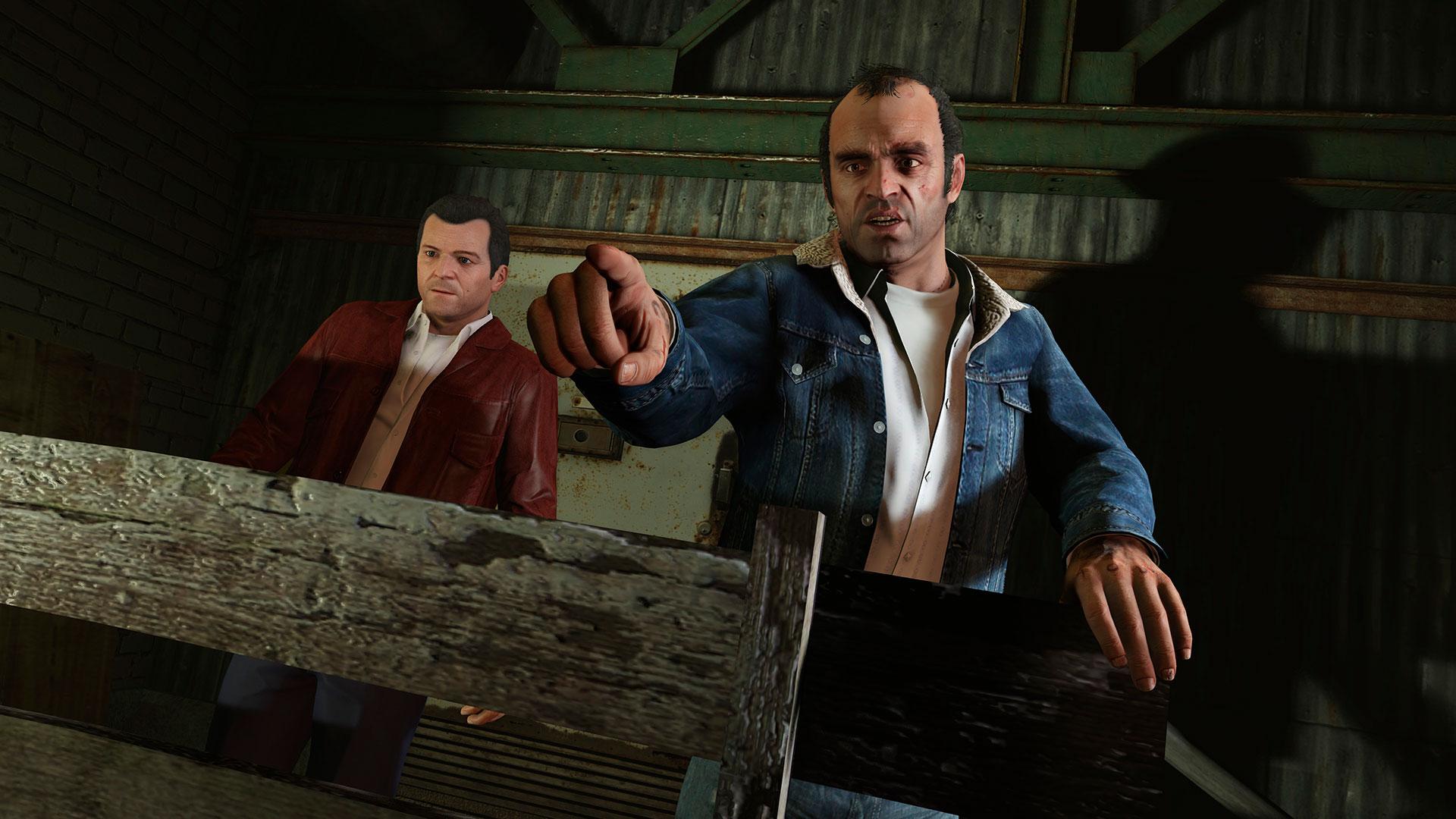 نقد و بررسی بازی GTA V