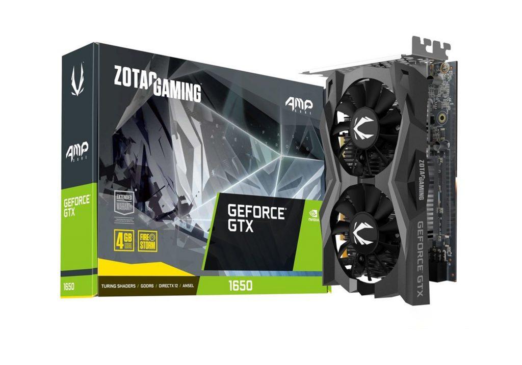 کارت گرافیک زوتک GTX 1650 AMP Core Gaming 4GB