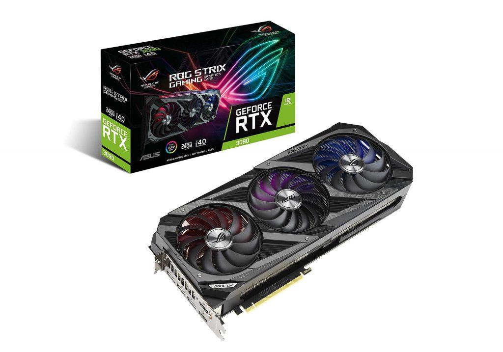 کارت گرافیک ایسوس ROG STRIX RTX 3090 OC Gaming 24GB