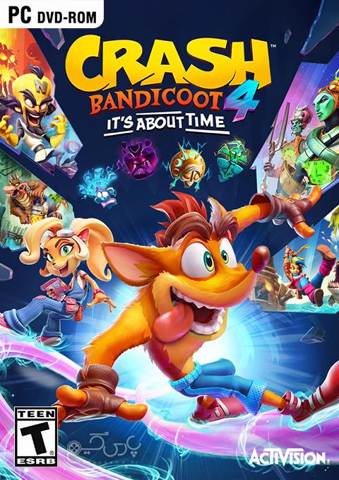 دانلود بازی Crash Bandicoot 4 It's About Time برای PC