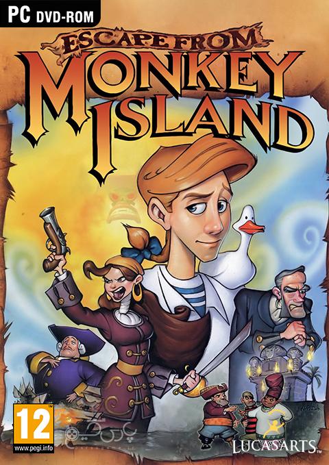 دانلود بازی Escape from Monkey Island برای PC