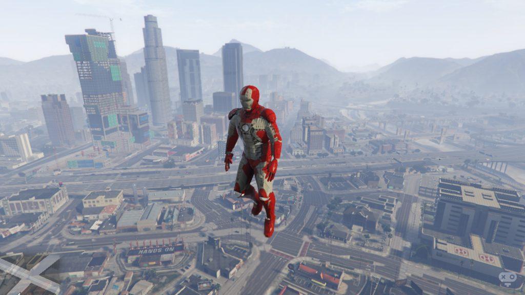 دانلود ماد GTA Iron Man Armour برای بازی GTA V