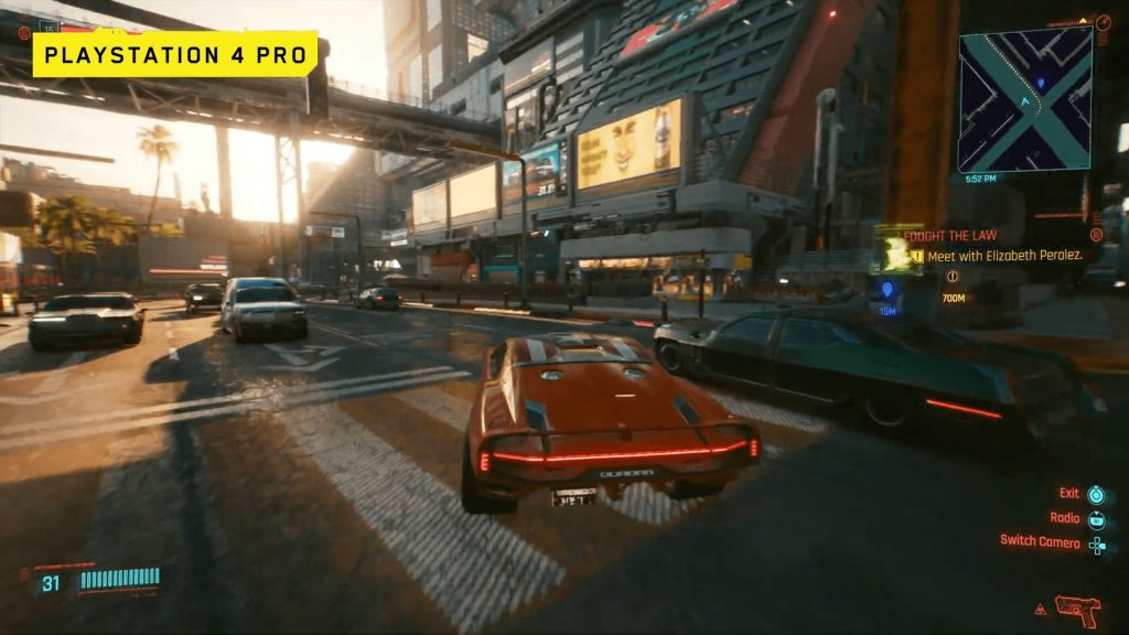 PS4 Pro Cyberpunk 2077