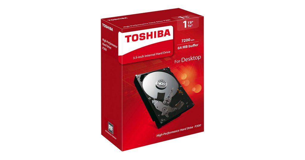 TOSHIBA P300 1TB 7200 RPM