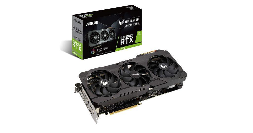 ASUS TUF RTX 3080 OC Gaming 10GB GDDRX