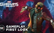 Marvel's Guardians of the Galaxy gameplay