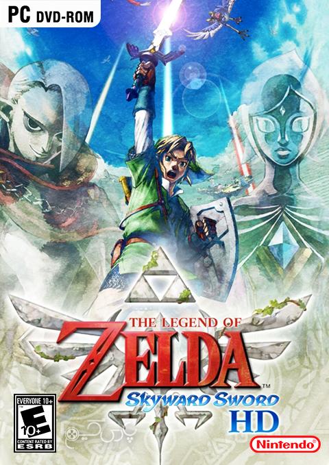 دانلود بازی The Legend of Zelda Skyward Sword HD برای PC