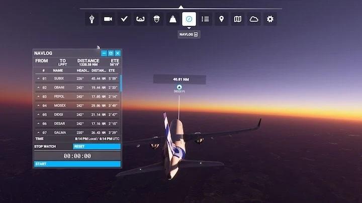 Flight Simualtor Search