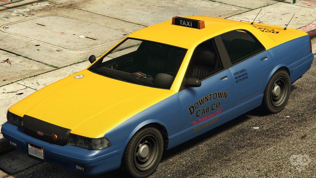 Taxi GTA V