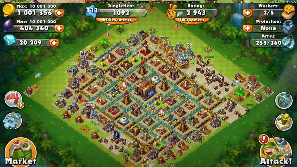 Jungle-Heat-War-of-Clans